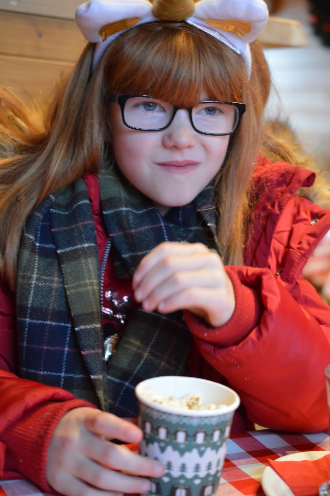 Santa on the Rooftop at Fenwick Newcastle   A Review  - Christmas popcorn