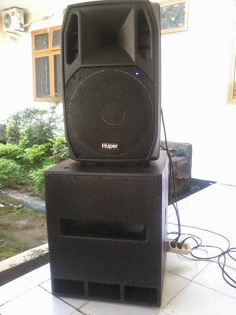 Speaker Sound System Merk Huper Aktif Lapangan Harga