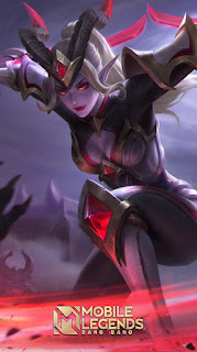 Karina Blood Moon Heroes Assassin Mage of Skins