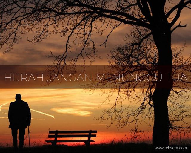 Hijrah jangan menunggu tua! #AyoHijrah bersama Bank Muamalat Indonesia