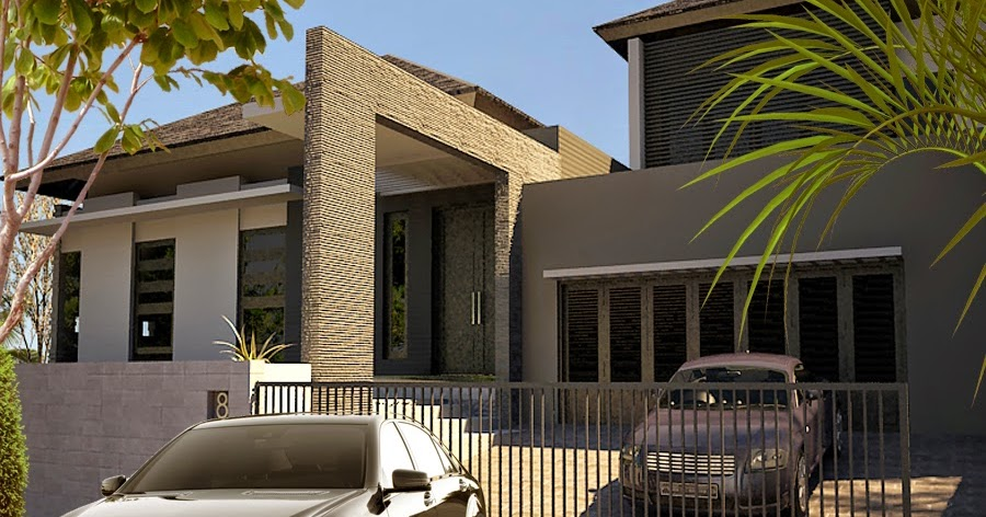 Design Rumah Minimalis Modern Terbaru  Rumah Minimalis