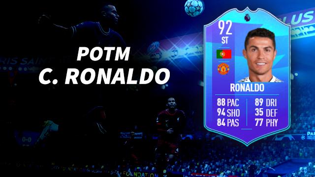 Cristiano Ronaldo POTM Premier League FIFA 22