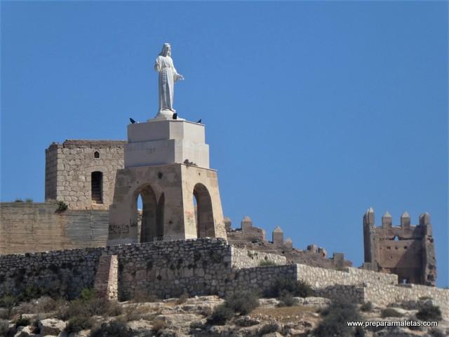 miradores desde la Alcazaba de Almería