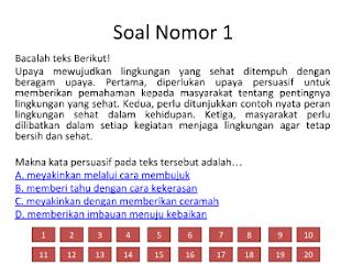 Latihan Soal UN Bahasa Indonesia SMP 2018 dan Pembahasannya