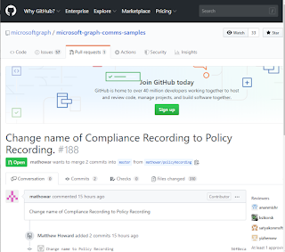 """policy%2Brecording Microsoft Changes Microsoft Teams Compliance Recording API Name to """"Policy Recording"""""""