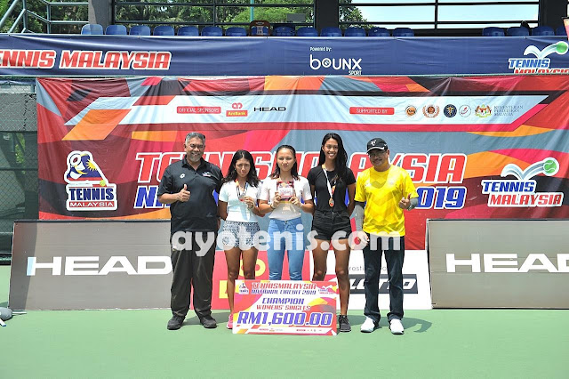 Tumbangkan Unggulan 1 dan 2, Oxi Gravitasi Sabet Juara Tennis Malaysia National Circuit 2019 Leg-3