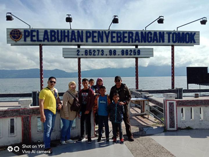 Jeti Pulau Samosir - Kampung Tomok