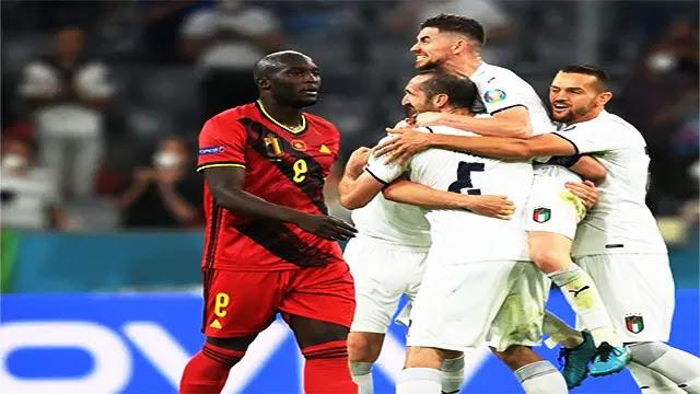 إيطاليا تقصي بلجيكا وتضرب موعدا مع إسبانيا في نصف نهائي يورو 2020