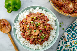 Red Beans and Rice #vegan #recipevegetarian