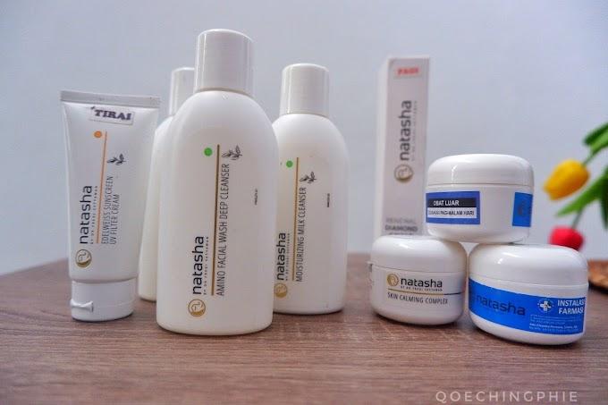 Review Pengalaman Menggunakan Natasha Skincare selama 1 bulan