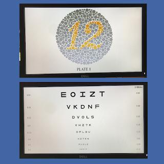 LED Vision chart Displays