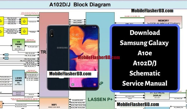 Samsung Galaxy A10e Schematic Service Manual Full Pack Zip