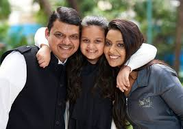 Devendra Fadnavis Family Wife Son Daughter Father Mother Age Height Biography Profile Wedding Photos