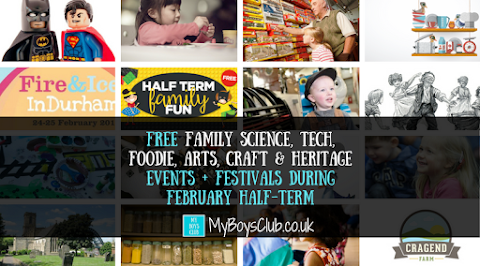 FREE Family Science, Tech, Foodie, Arts, Craft & Heritage Events + Festivals during February Half-Term