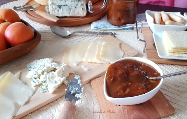 Chutney de albaricoques