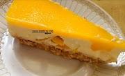 Resepi Mango Cheese Cake Tanpa Bakar Mudah Dan Sedap Ala Kula Cakes