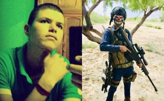"""Identifican a un Narcopayaso del CJNG que se exhibió patrullando Tamaulipas, se llama Eduardo y le dicen """"El Rubio"""""""