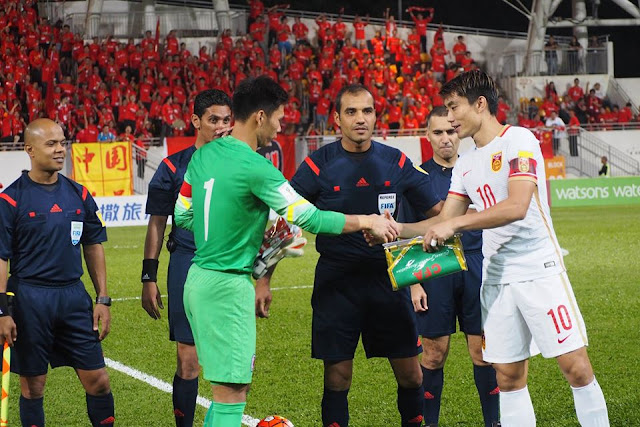 Hong Kong Versus China FIFA World Cup 2018 Qualifying Match