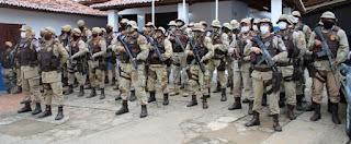 """Policia Militar desencadeia """"Operação Vale Verde"""" em Mundo Novo"""