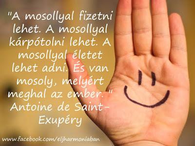 #mosoly #öröm #szeretet #boldogság #éljharmóniában #nevetés