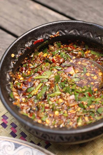 sauce piquante laotienne