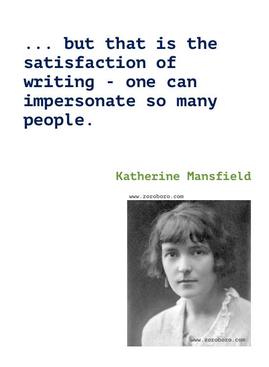 Katherine Mansfield Quotes, Katherine Mansfield Poems, Katherine Mansfield Short Stories, Katherine Mansfield Books Quotes/Katherine Mansfield Poetry