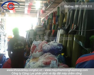 Hình ảnh bên trong công ty sản xuất và cung cấp ô dù bạt  Kim Trang - Hải Phòng.