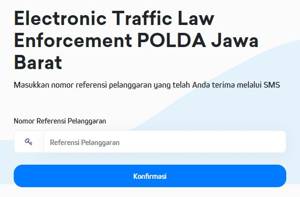 Mekanisme Tilang Elektronik ETLE Polda Jabar