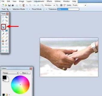 Cara mudah membuat background gambar dan foto jadi transparan
