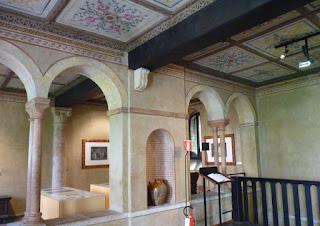 Interior de la Casa de Julieta en Verona.