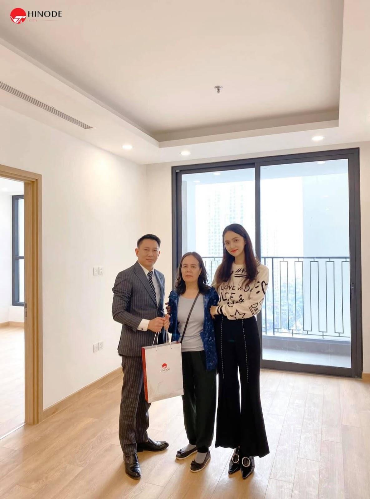 Hoa hậu Hương Giang mua căn hộ Hinode City Minh Khai