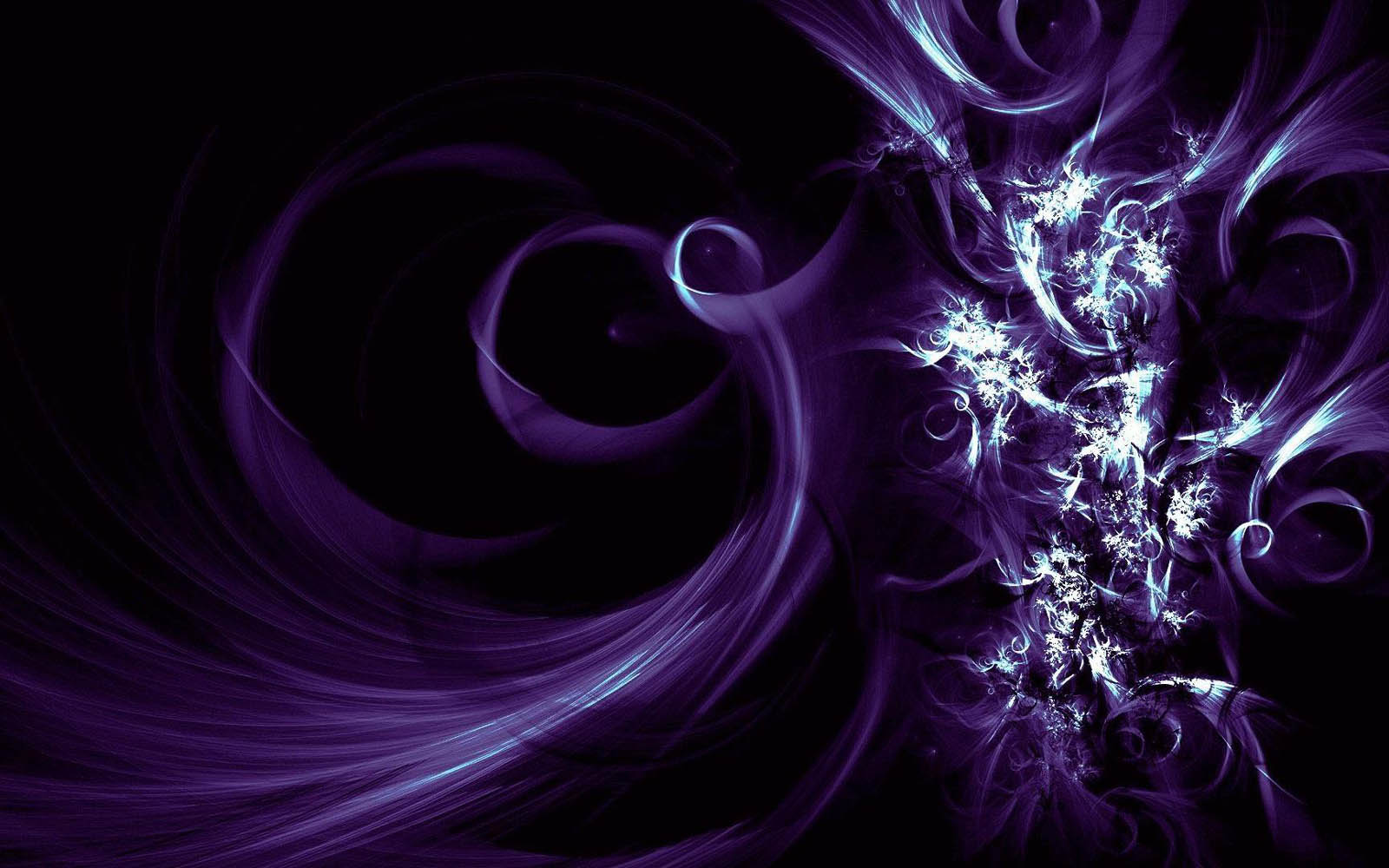 Gambar Purple and Black Abstract