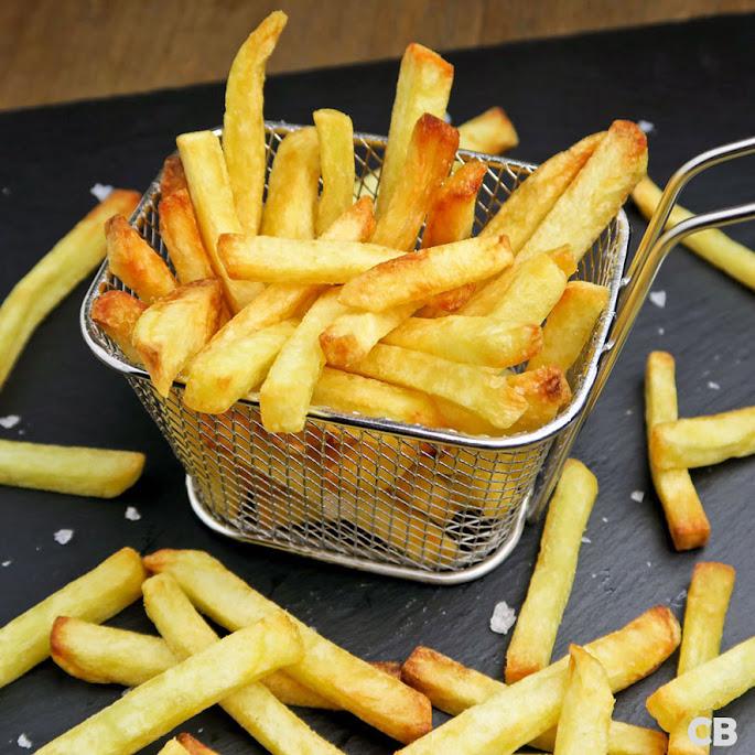 Versgebakken frietjes zijn heerlijk met gerookt zeezout!