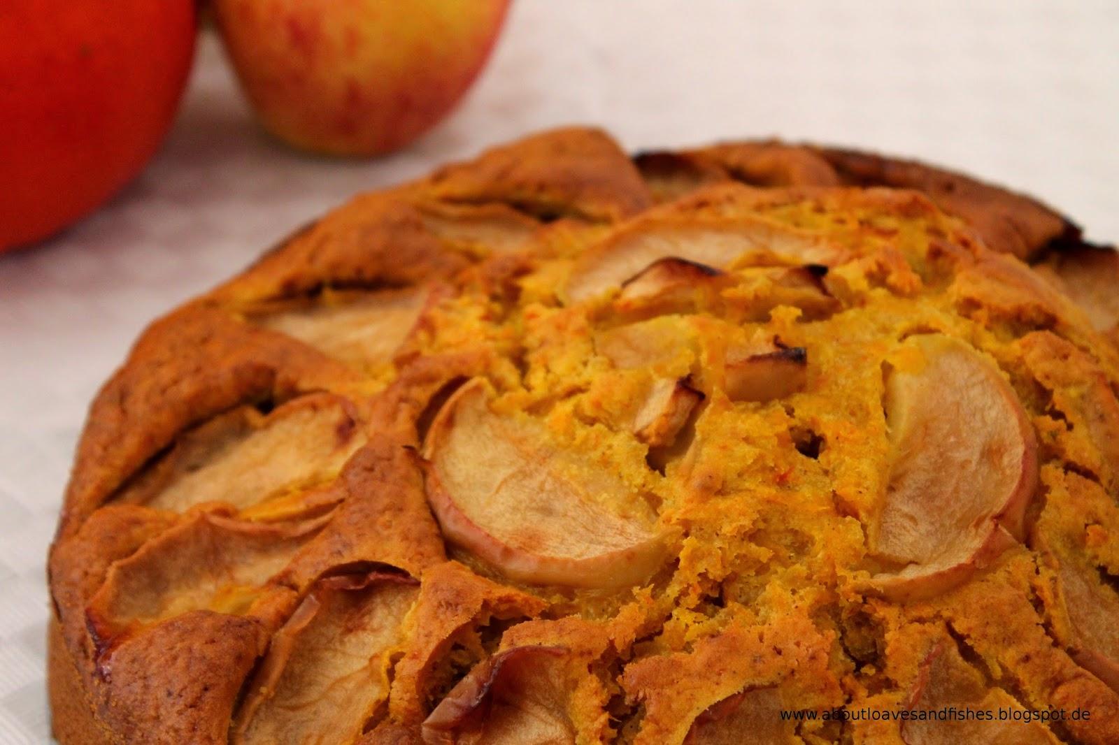 Herbstlicher Apfel-Kürbiskuchen