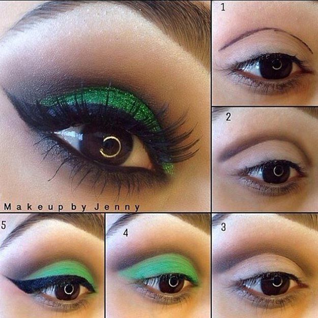 Pictures of eye make up