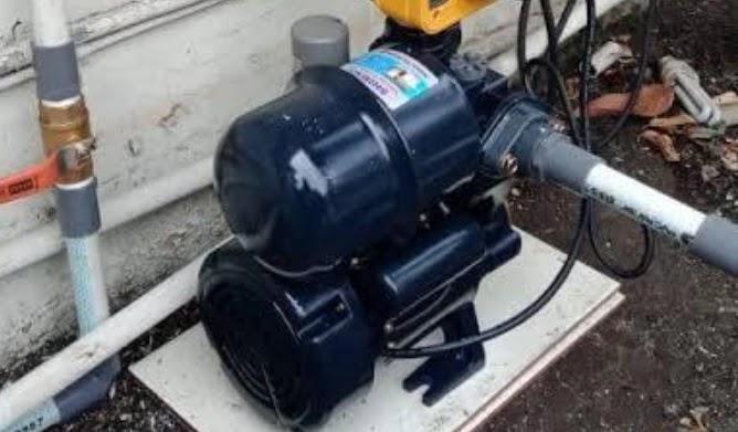 Pompa Air Tersendat-sendat
