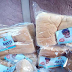Photo: Loaves of bread with photos of APC governorship candidate in Ondo State, Rotimi Akeredolu seen on the streets