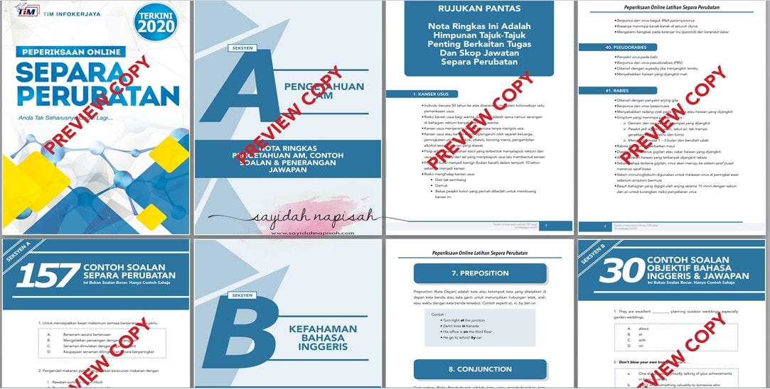 contoh soalan spa separa perubatan u29 exam online