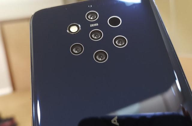 Multiple camera phone