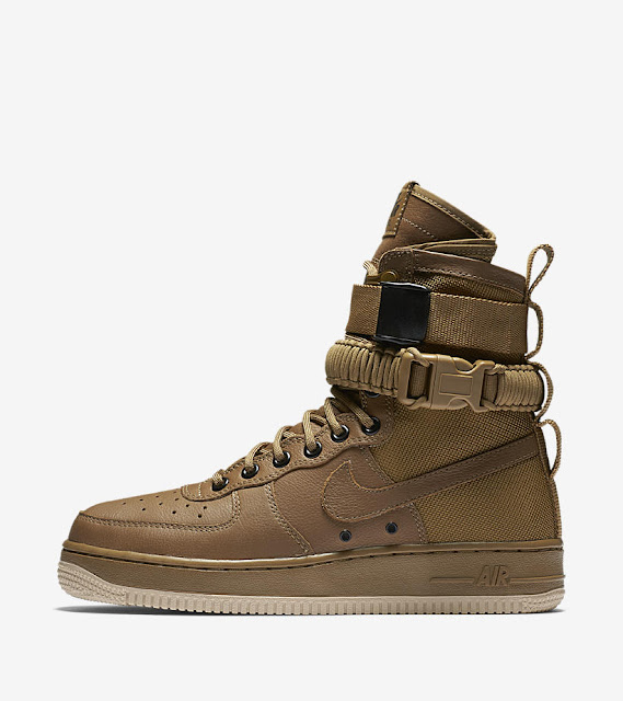 Nike Special Field Air Force One bege beige