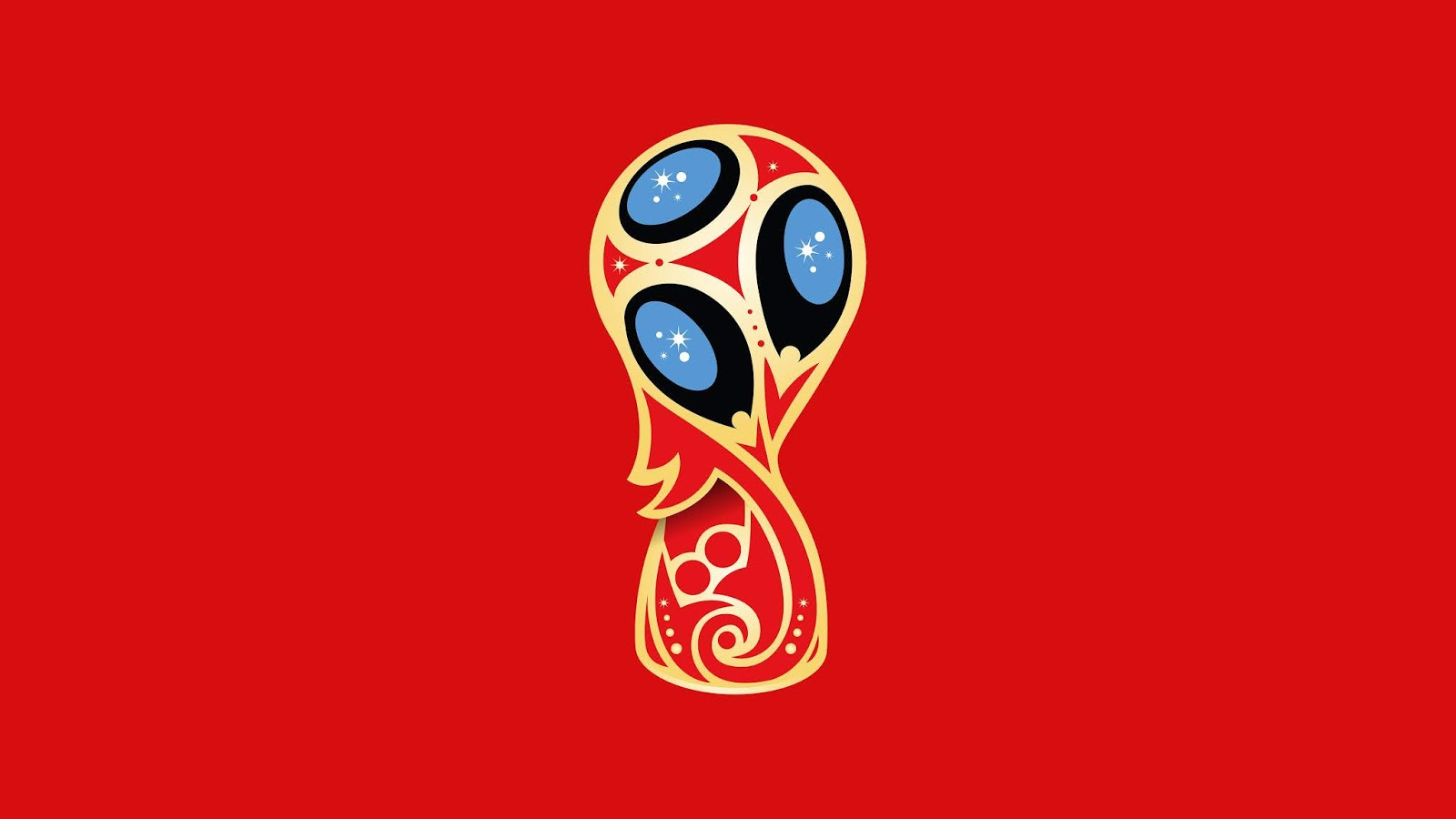 2018 FIFA World Cup, Russia, Trophy, Red, Minimal, FIFA World Cup, 5K, Sports