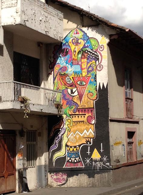 Side of building art