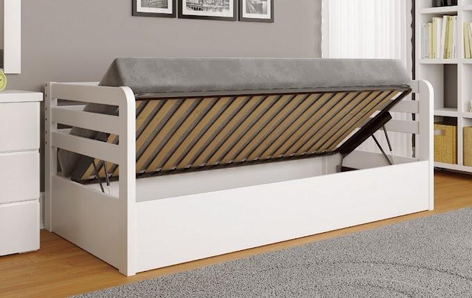 Кровать Немо Люкс с механизмом 80х190 (сосна) ТМ АрборДрев