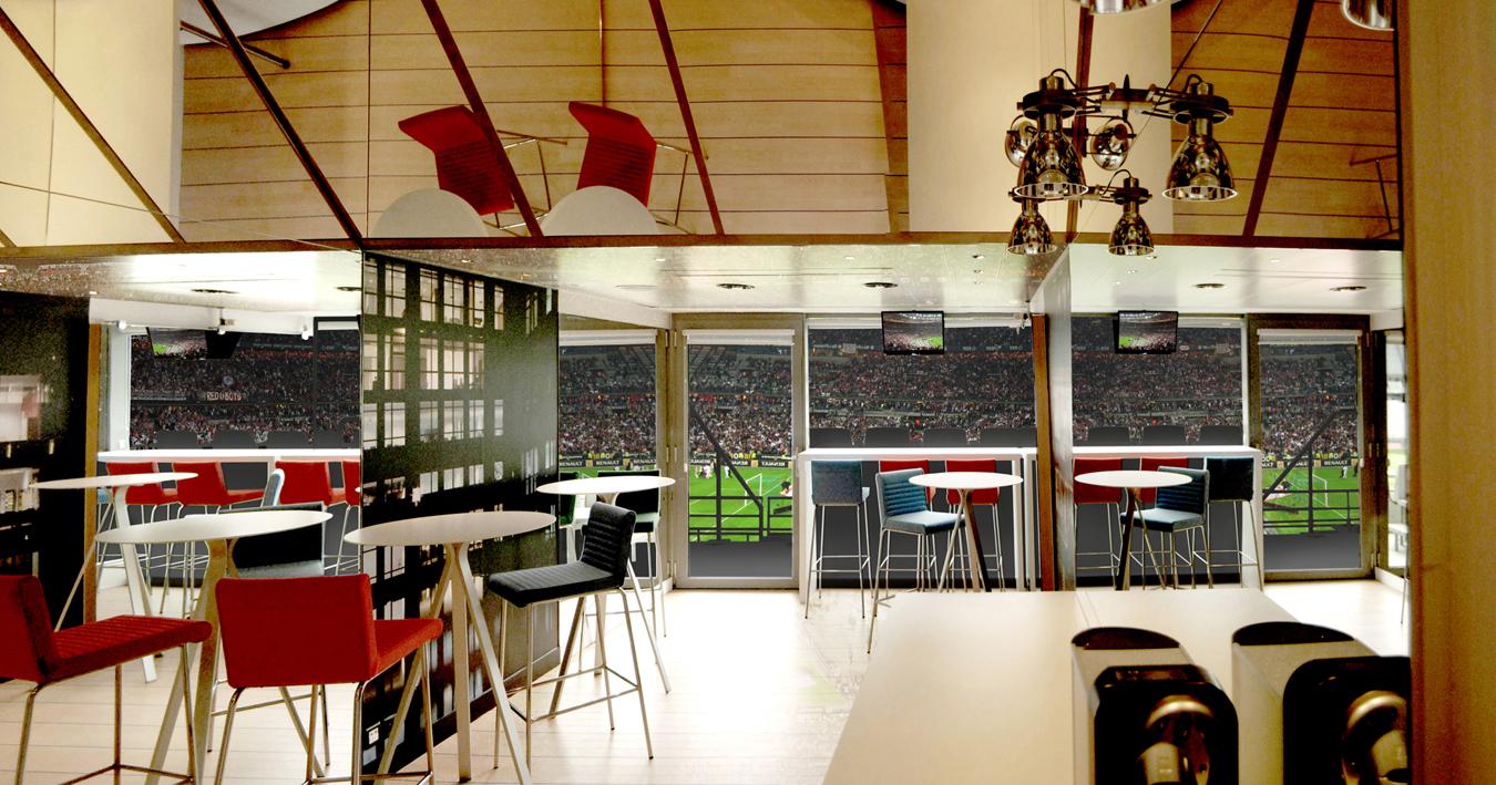 jean louis berthet une loge au stade de france. Black Bedroom Furniture Sets. Home Design Ideas