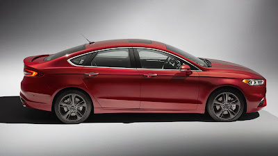 2017 ford fusion sport hd wallpaper