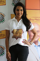 Actress Priya Anand in T Shirt with Students of Shiksha Movement Events 24.jpg