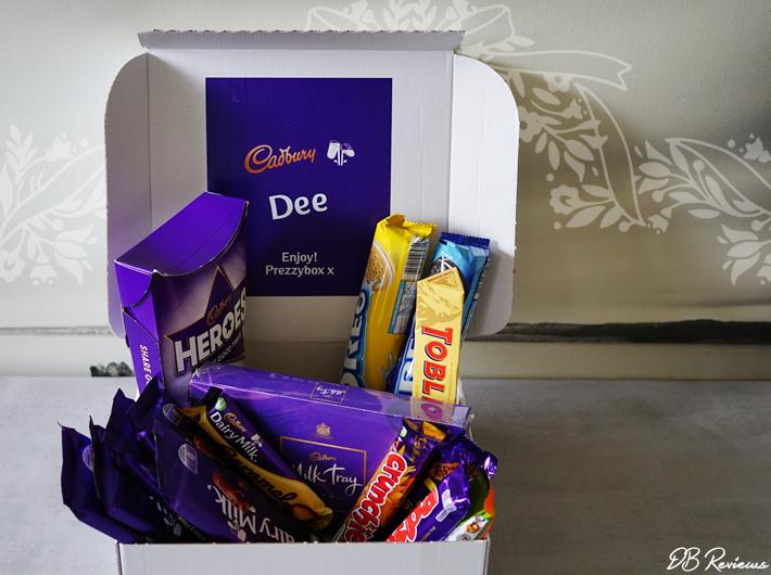Personalised Cadbury Chocolate Hamper from Prezzybox