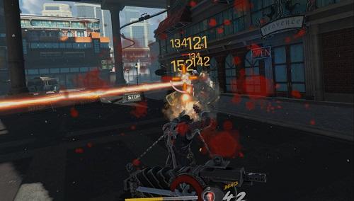 Gungrave VR Gameplay