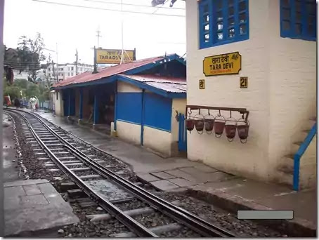 Tara Devi Station - Kalka Shimla Toy Train