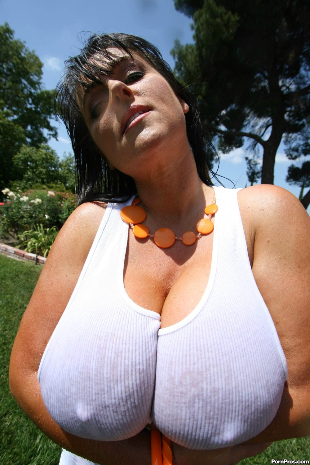 Big Huge Tits Mature